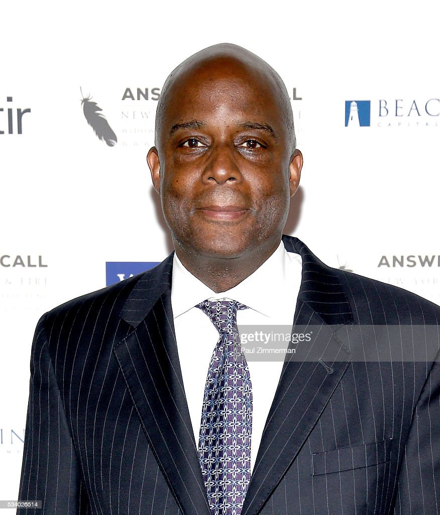 Honorary Chair/FDNY First Deputy Commissioner, Robert Turner poses at the 4th Annual Kick Off To Summer Benefit 'The Red & Blue Soiree' at The Bowery Hotel on May 24, 2016 in New York City.