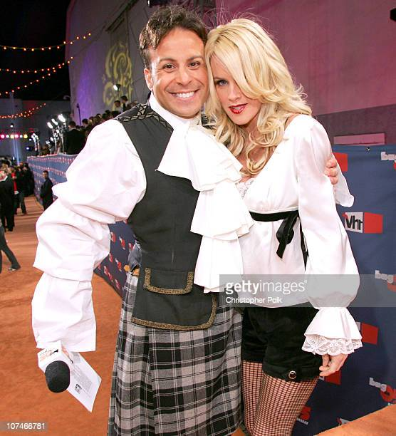 Ant and Jenny McCarthy during VH1 Big in '05 Red Carpet at Sony Studios in Los Angeles California United States