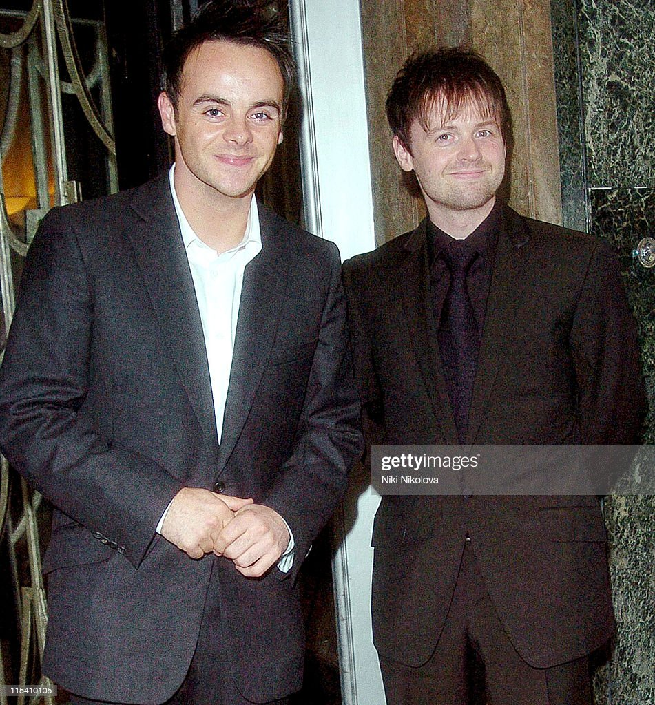 Ant McPartlin and Declan Donnelly Sighting at Claridges in London - July 31,