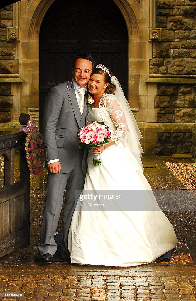 <a gi-track='captionPersonalityLinkClicked' href=/galleries/search?phrase=Ant+McPartlin&family=editorial&specificpeople=212754 ng-click='$event.stopPropagation()'>Ant McPartlin</a> and Lisa Armstrong during <a gi-track='captionPersonalityLinkClicked' href=/galleries/search?phrase=Ant+McPartlin&family=editorial&specificpeople=212754 ng-click='$event.stopPropagation()'>Ant McPartlin</a> and Lisa Armstrong Wedding at St. Nicholas Church Taplow in Taplow, Great Britain.