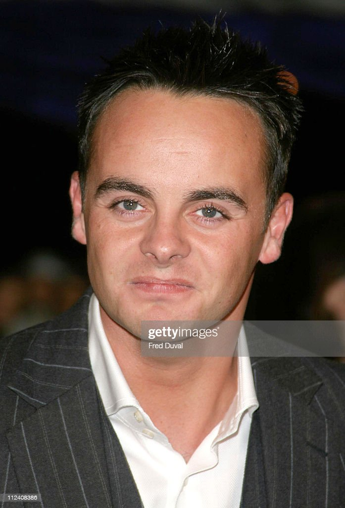 <a gi-track='captionPersonalityLinkClicked' href=/galleries/search?phrase=Ant+McPartlin&family=editorial&specificpeople=212754 ng-click='$event.stopPropagation()'>Ant McPartlin</a> during British Comedy Awards 2004 - Arrivals at LWT, Southbank in London, Great Britain.