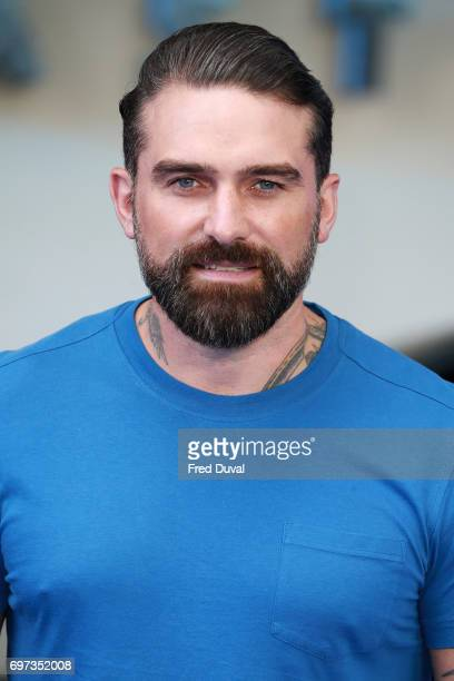 Ant Middleton attends the global premiere of 'Transformers The Last Knight' at Cineworld Leicester Square on June 18 2017 in London England
