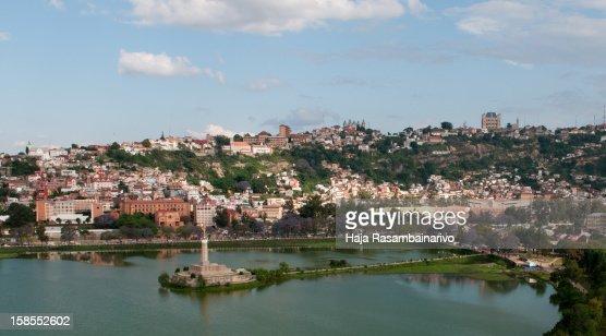 Antananarivo City and Hill