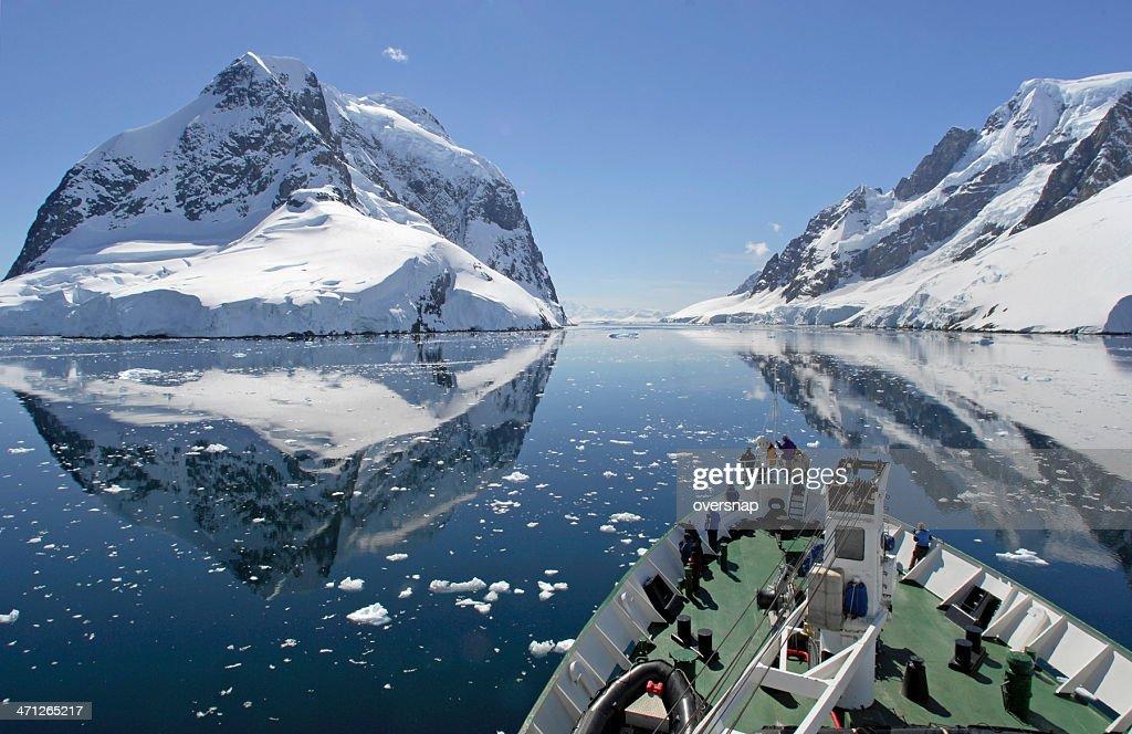 Crucero antártico : Foto de stock