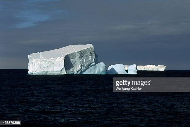 Antarctic Peninsula Near Adelaide Island Iceberg