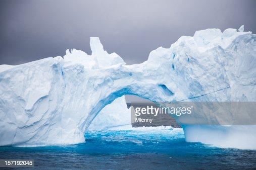 Antarctica Iceberg Natural Arch