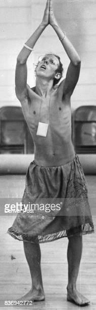Antares Lilon LaFleur Practices This is a classical Indian Dance Credit Denver Post