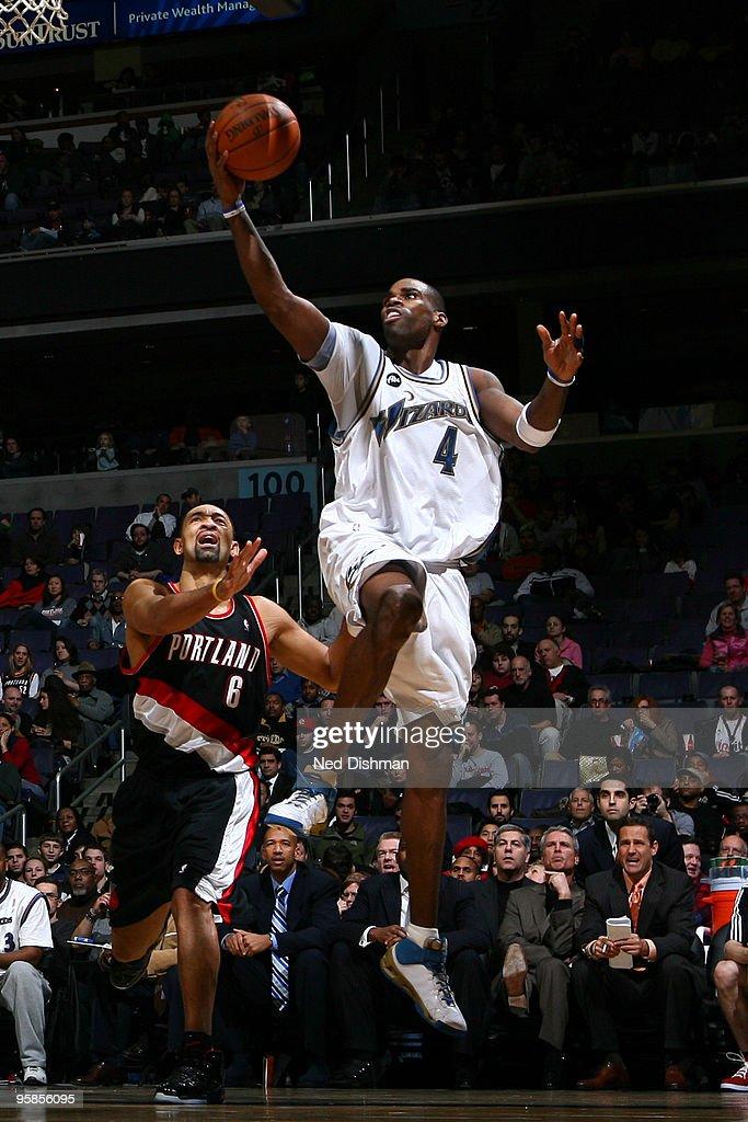 Portland Trail Blazers v Washington Wizards