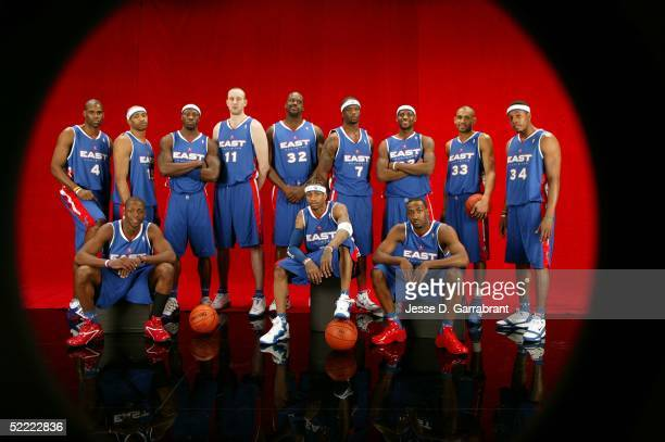 Antawn Jamison Vince Carter Ben Wallace Zydrunal Illgauskas Shaquille O'Neal Jermaine O'Neal Lebron James Grant Hill Paul Pierce Dwyane Wade Allen...