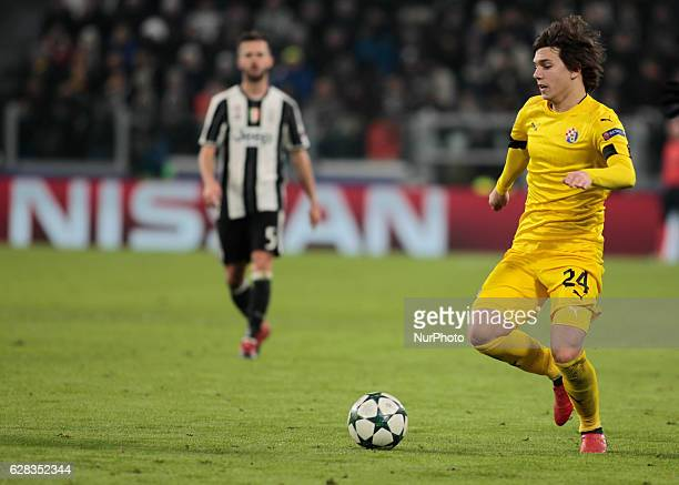 Ante Coric during Champions League match between Juventus v Dinamo Zagreb in Turin on December 7 2016
