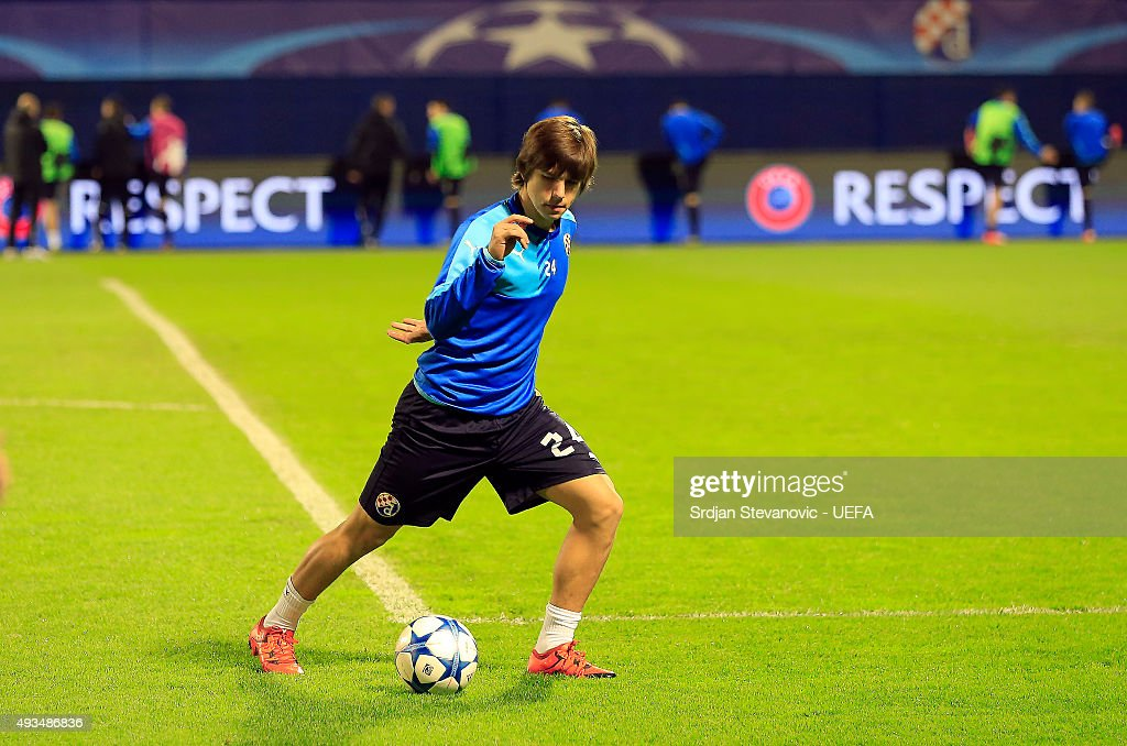 GNK Dinamo Zagreb v Olympiacos FC - UEFA Champions League : News Photo