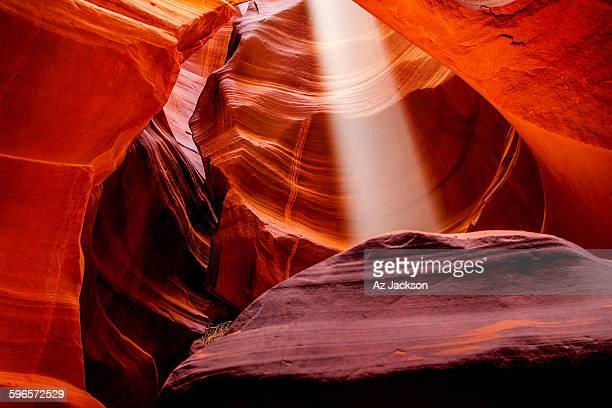 Antelope canyon sunbeam
