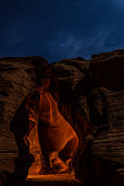 The Upper and Lower Antelope Canyons are an amazing geological structures. Unfortunately too many people visit these unique places so it's best, when possible, to visit them at night when there are no