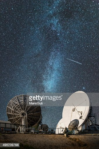 Antennas under the milky way