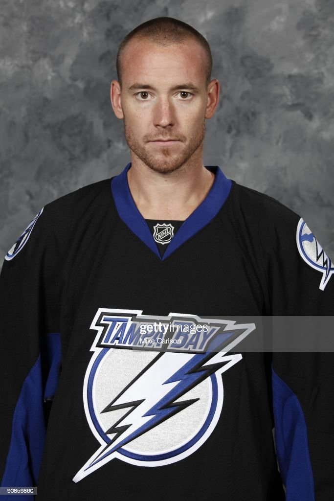 Antero Nittymaki of the Tampa Bay Lightning poses for his official headshot for the 2009-2010 NHL season.
