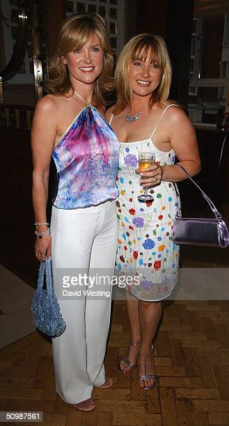 Anthea and Wendy Turner attend the 'Brooke Hospital For Animals' party at Monte's June 22 2004 in London England Some of the guests are subjects of a...