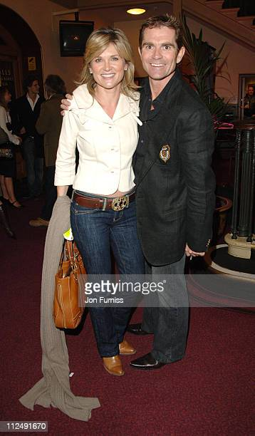 Anthea Turner and Grant Bovey during Amnesty International Presents Secret Policeman's Ball Inside Arrivals at Royal Albert Hall in London Great...