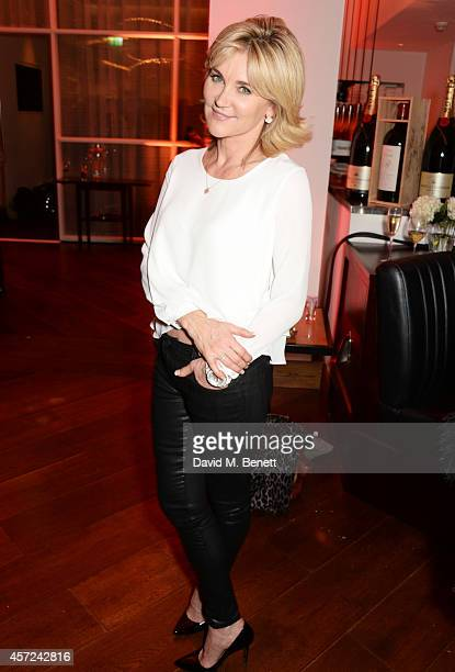 Anthea Turner attends a party hosted by Jonathan Shalit to celebrate his OBE at Avenue on October 14 2014 in London England