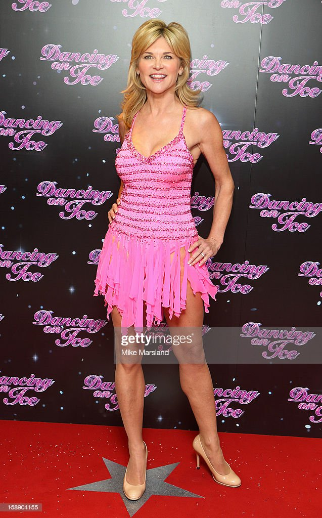 Anthea Turner attends a photocall for the launch of Dancing on Ice 2013 at The London Television Centre on January 3, 2013 in London, England.