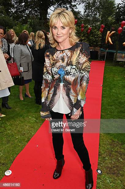 Anthea Turner attends Kelly Simpkin London's fashion soiree garden party in support of the British Red Cross at the home of Kelly Simpkin and Nicky...