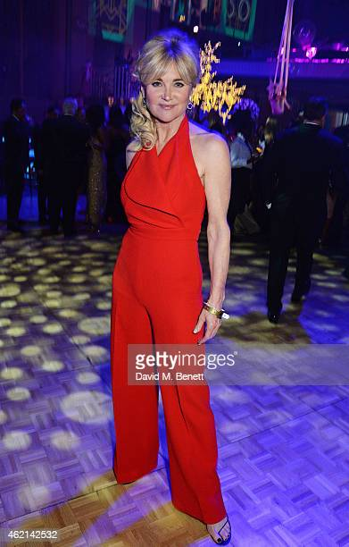 Anthea Turner attends Lisa Tchenguiz's 50th birthday party at the Troxy on January 24 2015 in London England