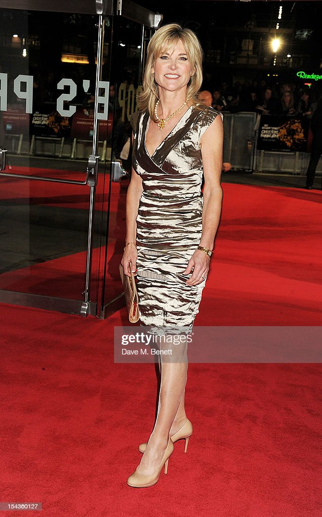 Anthea Turner attends the Gala Premiere of 'Crossfire Hurricane' during the 56th BFI London Film Festival at Odeon Leicester Square on October 18, 2012 in London, England.