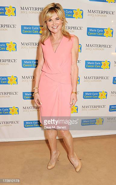 Anthea Turner attends The Masterpiece Midsummer Party in aid of Marie Curie Cancer Care hosted by Heather Kerzner at The Royal Hospital Chelsea on...