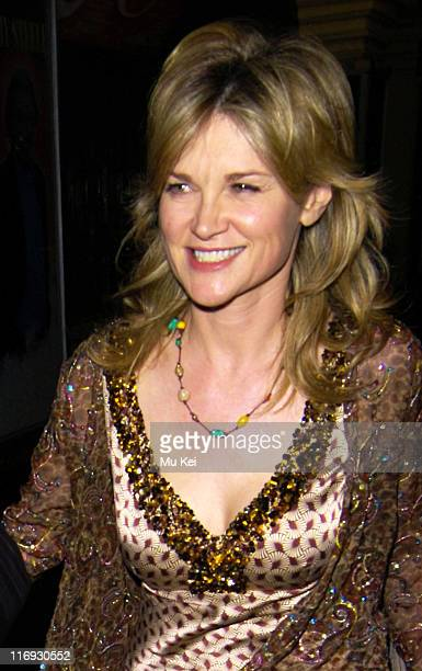 Anthea Turner during Celebrity Sightings in London October 28 2005 in London Great Britain