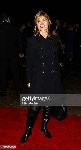 Anthea Turner during 'Cirque Du Soleil Dralion' European Premiere at Royal Albert Hall in London Great Britain