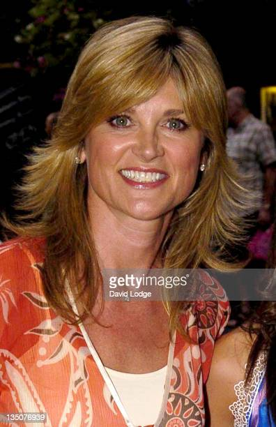 Anthea Turner during 'Guys and Dolls' Cast Change Press Night at Piccadilly Theatre in London Great Britain
