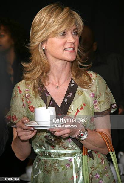 Anthea Turner during Tu for Sainsbury's Fashion Show at Mary Ward House at Mary Ward House in London Great Britain