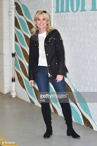 Anthea Turner seen at the ITV Studios on May 5 2017 in London England