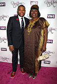 Anthony Anderson and mom Doris Bowman attend VH1's 'Dear Mama' Taping at St Bartholomew's Church on May 3 2016 in New York City
