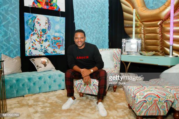 Anthony Anderson attends Backstage Creations Celebrity Retreat at Teen Choice 2017 Day 2 at Galen Center on August 13 2017 in Los Angeles California
