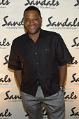 Anthony Anderson attends Celebrity Golf Tournament Afterparty during Sandals Emerald Bay Celebrity Golf Weekend on June 4 2016 in Great Exuma Bahamas