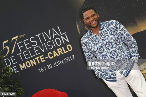 Anthony Anderson attends photocall for 'BlackIsh' on June 17 2017 at the Grimaldi Forum in MonteCarlo Monaco