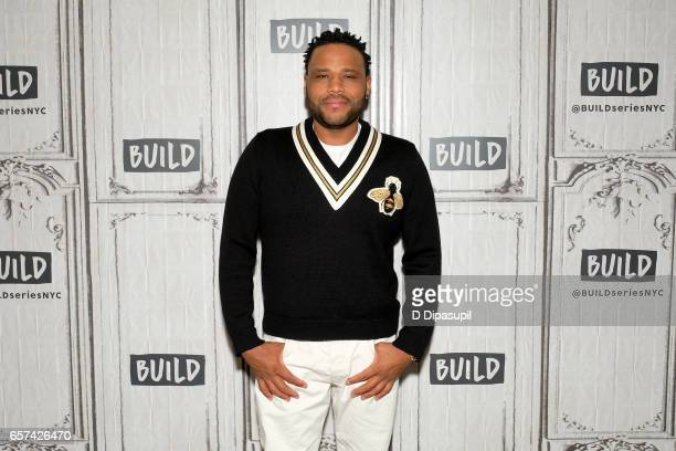 Anthony Anderson attends the Build Series to discuss 'Blackish' at Build Studio on March 24 2017 in New York City