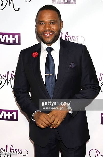 Anthony Anderson attends VH1's 'Dear Mama' Taping at St Bartholomew's Church on May 3 2016 in New York City