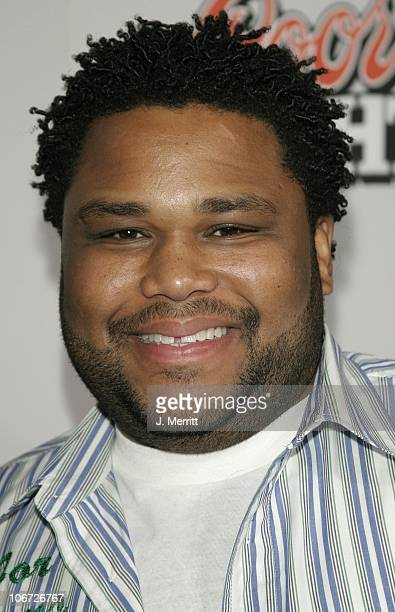 Anthony Anderson during 'My Baby's Daddy' Los Angeles Premiere at The Egyptian Theatre in Hollywood California United States