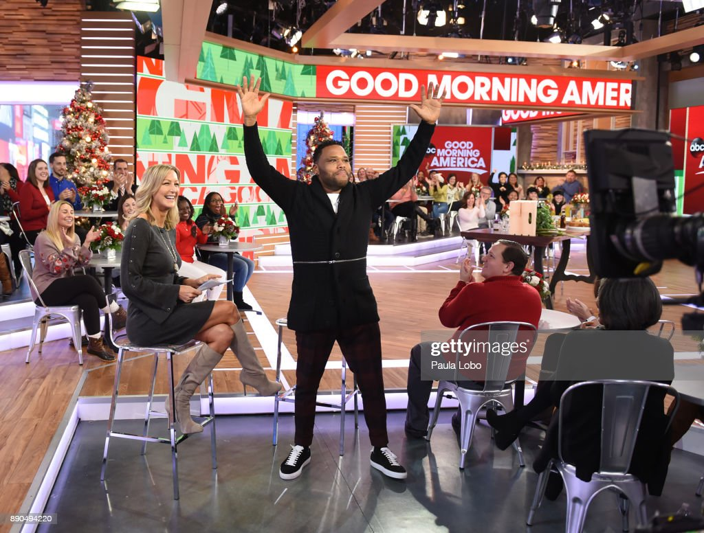 AMERICA - Anthony Anderson is a guest on 'Good Morning America,' Monday, December 11, 2017, airing on the ABC Television Network. LARA