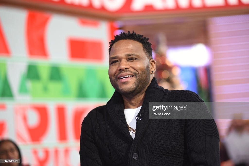 AMERICA - Anthony Anderson is a guest on 'Good Morning America,' Monday, December 11, 2017, airing on the ABC Television Network. ANTHONY