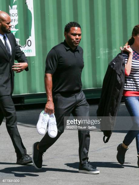 Anthony Anderson is seen at 'Jimmy Kimmel Live' on May 02 2017 in Los Angeles California