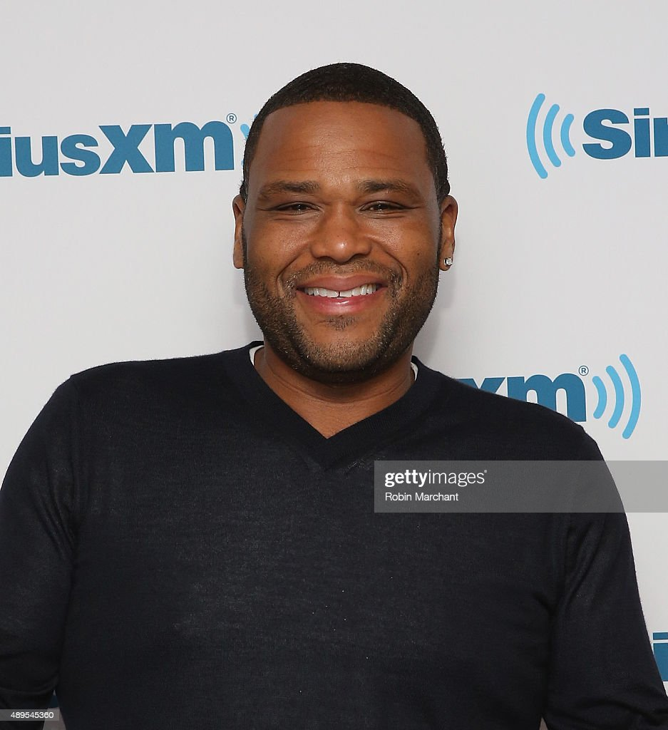 Anthony Anderson visits at SiriusXM Studios on September 22, 2015 in New York City.