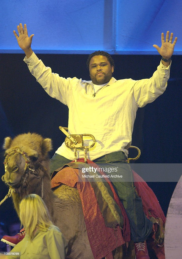 Anthony Anderson winner of theFavorite Fart in a Movie Award for 'Kangaroo Jack'