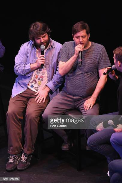 Anthony Atamanuik and John Gemberling perform on stage at the Comedy Bang Bang at BAM presented by Vulture Festival on May 20 2017 in New York City