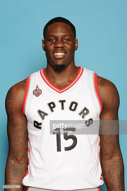 Anthony Bennett of the Toronto Raptors poses for a photo during media day on September 28 at the Air Canada Centre in Toronto Ontario Canada NOTE TO...