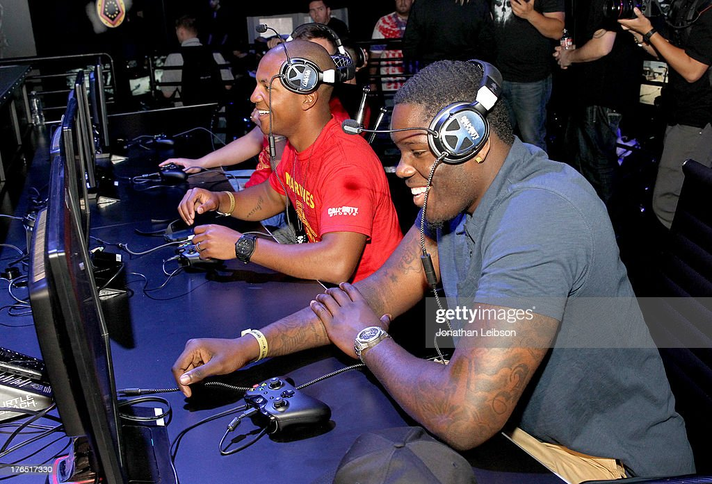 Anthony Bennett, Pro Basketball Player for the Cleveland Cavaliers attends 'Call Of Duty: Ghosts' Multiplayer Global Reveal at LA Live on August 14, 2013 in Los Angeles, California.