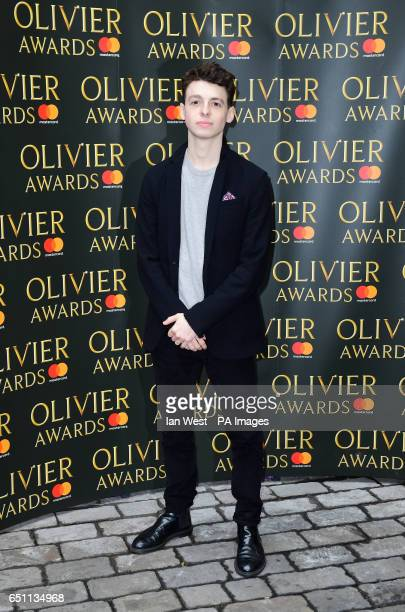 Anthony Boyle arriving at the Olivier Awards Nominations Party held at the Rosewood London