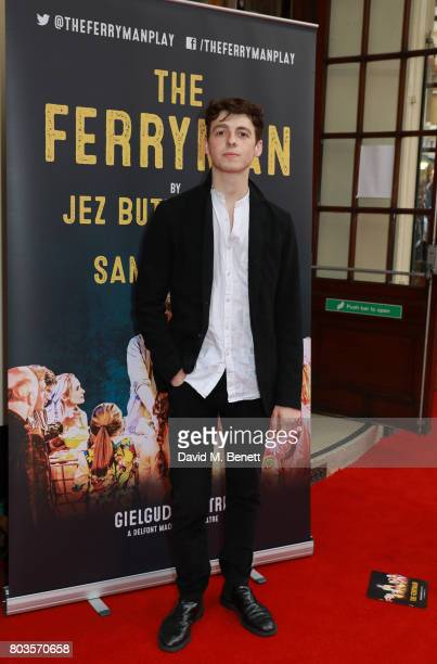 Anthony Boyle attends the press night performance of 'The Ferryman' at the Gielgud Theatre on June 29 2017 in London England