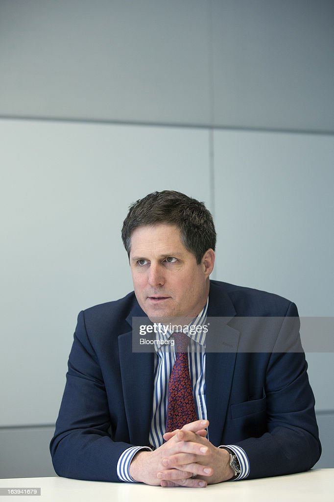 Anthony Browne, chief executive officer of the British Bankers' Association (BBA), pauses during an interview in London, U.K., on Monday, March 18, 2013. U.K. stocks retreated, sending the FTSE 100 Index lower for a second day, after the euro area forced Cyprus to adopt an unprecedented levy on bank deposits, threatening to reignite the region's debt crisis. Photographer: Simon Dawson/Bloomberg via Getty Images